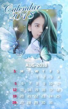 Calendar Frames 2018 screenshot 2