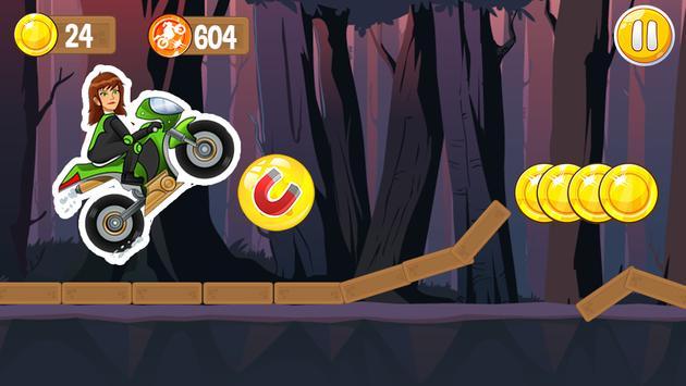 Jen 10 Motorcycle Game screenshot 4