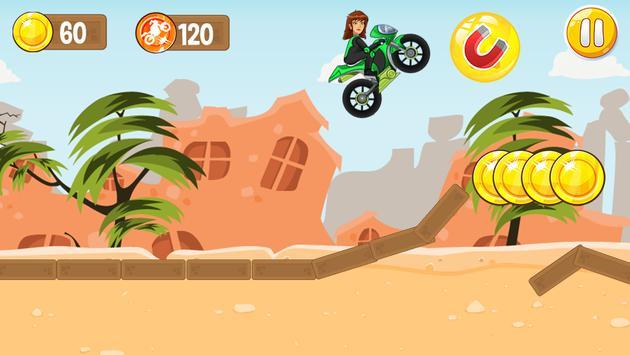 Jen 10 Motorcycle Game screenshot 9