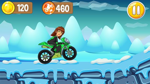 Jen 10 Motorcycle Game screenshot 2