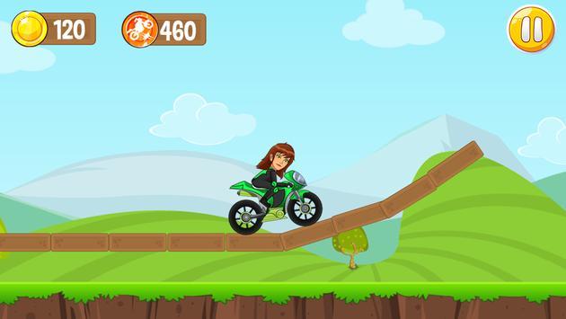 Jen 10 Motorcycle Game screenshot 3