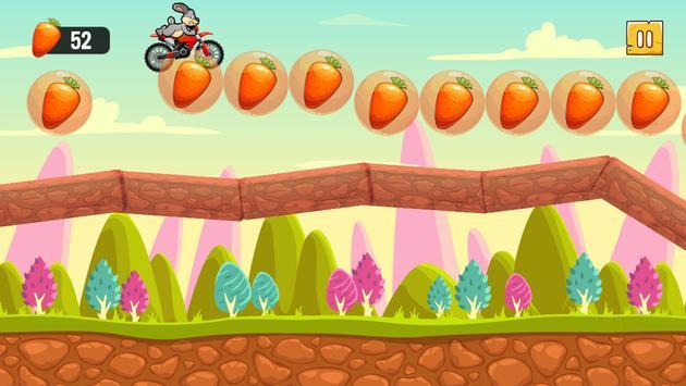 Funny Bunny Rabbit Super Motorcycle Adventures screenshot 4