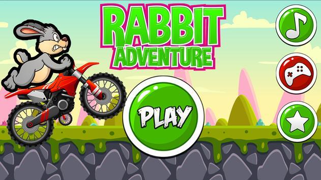 Funny Bunny Rabbit Super Motorcycle Adventures screenshot 5