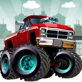 Toy Trucks Driving icon