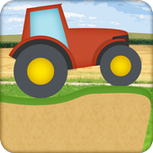 tractor climbing game icon
