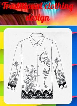 Traditional Clothing Design poster