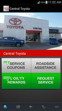 Central Toyota poster