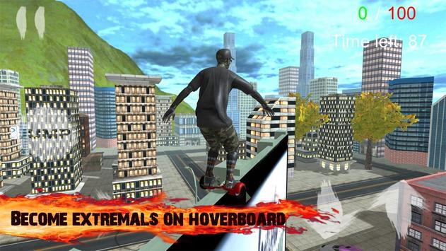 Traffic Hoverboard Subway 3D poster