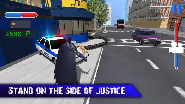 Traffic Justice Superhero Bat poster