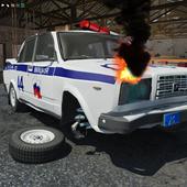 Traffic Police Crash Car PRO icon