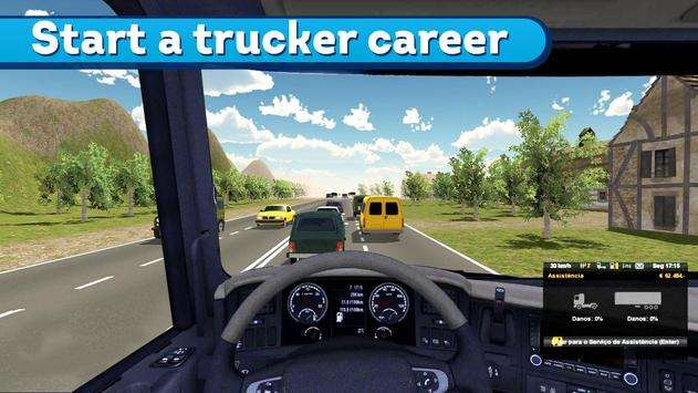 Trailer Driver Offroad Truck poster