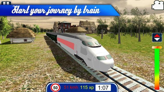 Train Games Simulator PRO poster