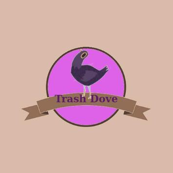 Trash Dove Bird 2017 poster