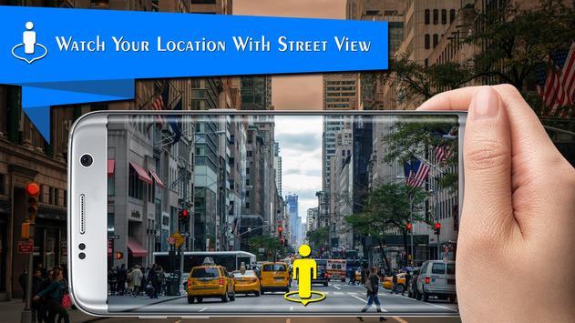 leven straat uitzicht kaartenroute vindernavigatie-poster