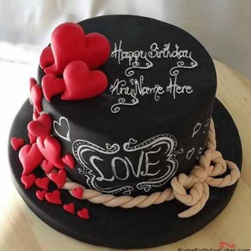 Trend Design Birthday Cake 2018 Poster
