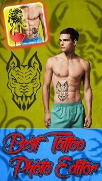 Best Tattoo Photo Editor poster