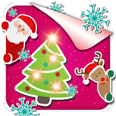 Christmas Eve Photo Stickers icon