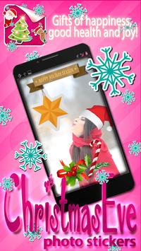 Christmas Eve Photo Stickers poster