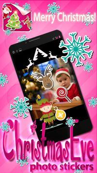 Christmas Eve Photo Stickers screenshot 1
