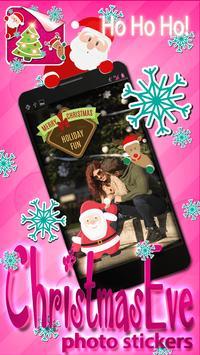 Christmas Eve Photo Stickers screenshot 4
