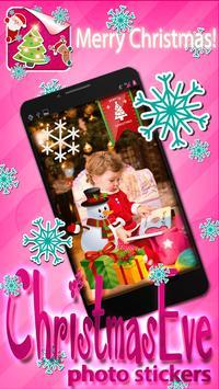 Christmas Eve Photo Stickers screenshot 5