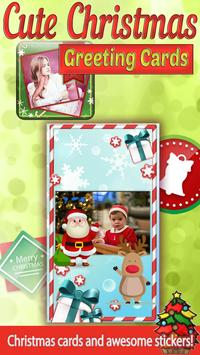 Cute Christmas Greeting Cards apk screenshot