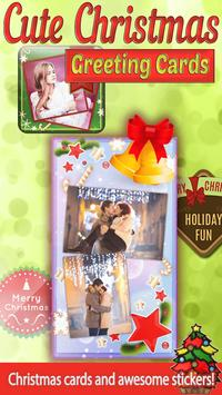 Cute Christmas Greeting Cards poster