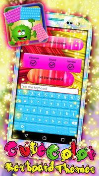 Cute Color Keyboard Themes apk screenshot
