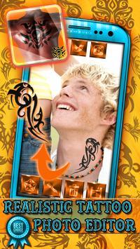 Realistic Tattoo Photo Editor apk screenshot