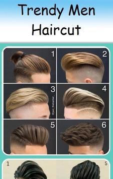 Trendy Haircut for Men poster