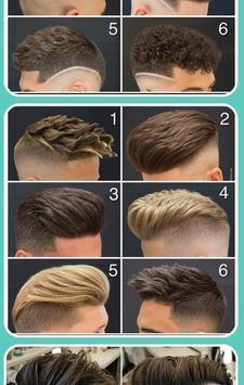 Trendy Haircut for Men screenshot 2