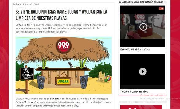 Radio Noticias Game screenshot 6
