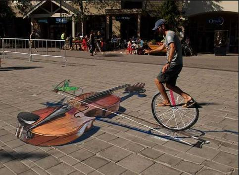 3D street artwork screenshot 3