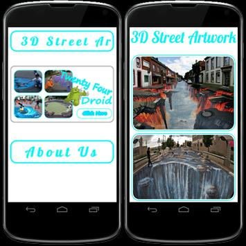 3D street artwork screenshot 1