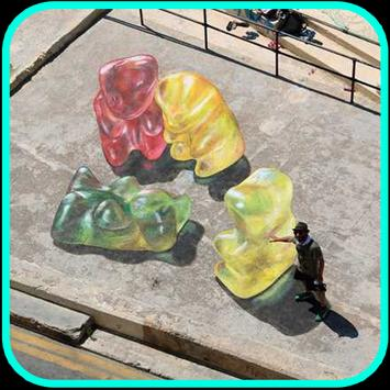 3D street artwork screenshot 6