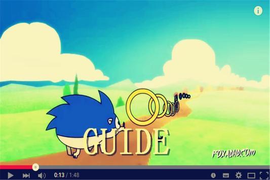 Tip Sonic The Hedgehog Guide apk screenshot