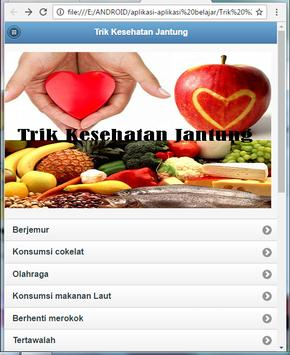 Trick Heart Health apk screenshot