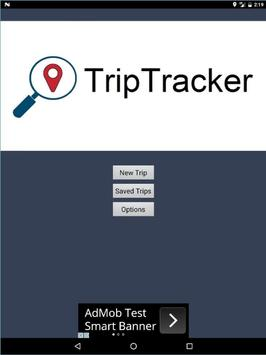 Trip Tracker App apk screenshot