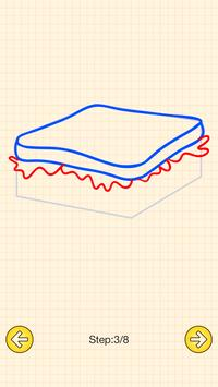 How To Draw Food screenshot 3