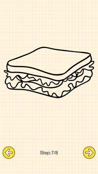 How To Draw Food screenshot 4