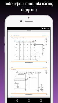 auto repair manuals wiring diagram screenshot 1