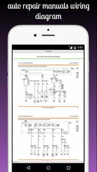 auto repair manuals wiring diagram screenshot 8