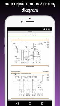 auto repair manuals wiring diagram screenshot 8