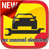 car manual electrical icon
