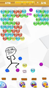 Troll Face Bubble Legend poster