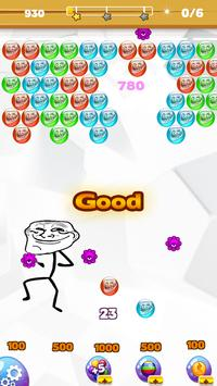 Troll Face Bubble Legend screenshot 1