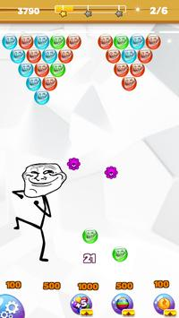 Troll Face Bubble Legend screenshot 2