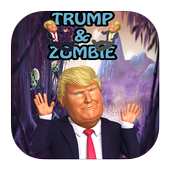 Trump and Zombie aventure icon