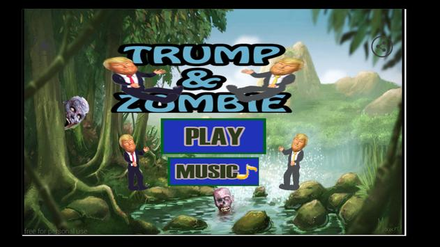Trump and Zombie aventure apk screenshot