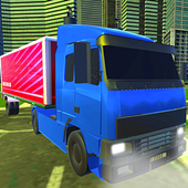 Truck Driving City icon